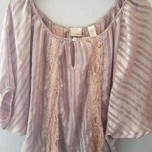 Buckle womens daytrip blouse size m/l
